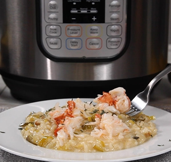Champagne Lobster Risotto