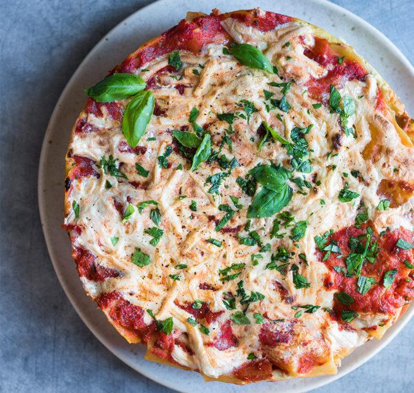 Vegetable Lasagna With Basil Ricotta